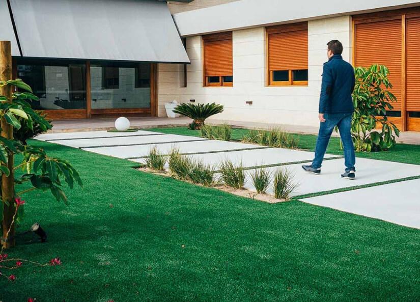 cesped-sintetico-para-jardin
